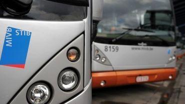STIB: itinéraires modifiés pour sept lignes de bus à partir du 31 août