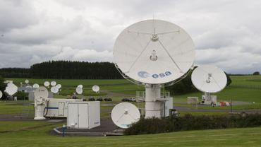 L'Agence spatiale européenne de Redu.