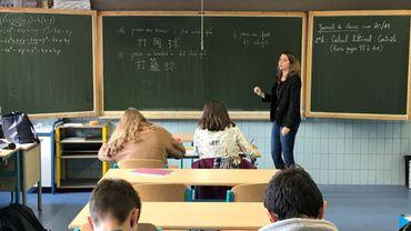 Depuis le mois de septembre, l'Athénée Royal Paul Delvaux, basé à Ottignies/Louvain-la-Neuve, propose des cours de chinois dès la troisième secondaire.