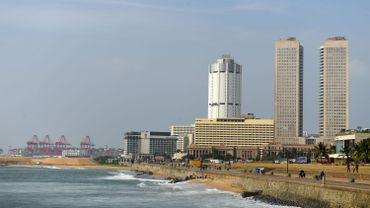 Un lieu touristique au Sri Lanka