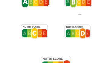 Cette vignette Nutri-score permet de comparer (à l'aide d'une échelle de couleurs et de lettres allant de A à E) différentes versions d'un même produit manufacturé et d'acheter le plus équilibré, le moins gras, le moins sucré et moins salé.
