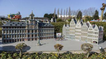 La Grand-Place de Bruxelles à Mini-Europe