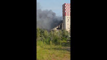 Explosion dans un silo à grains en Alsace