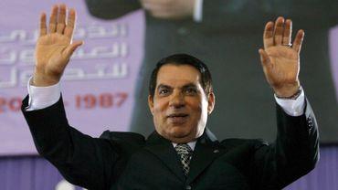 Le président déchu Zine el Abidine Ben Ali photographié en 2007.