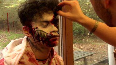 Comment la terrifiante nuit d'Halloween se prépare dans un célèbre parc d'attractions ?