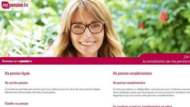Le site mypension.be