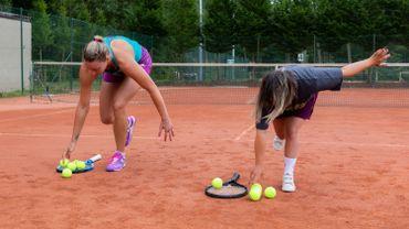 Kristi Panken et Yanina Wickmayer