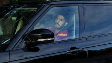 Suarez arrivé à Pérouse pour son examen d'italien, nécessaire pour signer à la Juventus