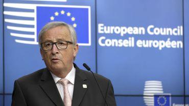 """Jean-Claude Juncker, a appelé la Belgique à """"faire preuve de générosité"""" en conférant la nationalité belge aux fonctionnaires européens britanniques qui en feraient la demande."""