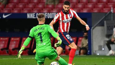 Yannick Carrasco décisif