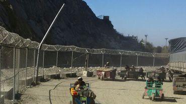 Le poste-frontière de Torkham, entre l'Afghanistan et le Pakistan, le 9 février 2017