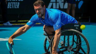 Joachim Gérard éliminé en demi-finale du double en chaise roulante à l'US Open