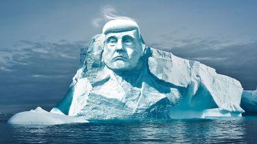 Climat: bientôt un iceberg à l'effigie de Donald Trump