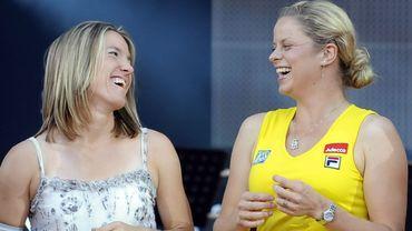 Justine Henin et Kim Clijsters