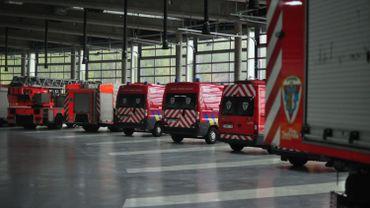 Découvrez la nouvelle caserne des pompiers de Charleroi (PHOTOS)