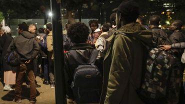 14 personnes ont été arrêtées hier soir par la police fédérale aux abords de la gare du Nord