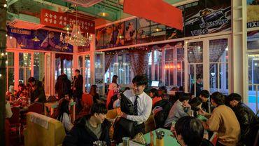 """Le """"Bar de Pyongyang"""" est le seul de la capitale sud-coréenne qui ait pour thématique la Corée du Nord."""
