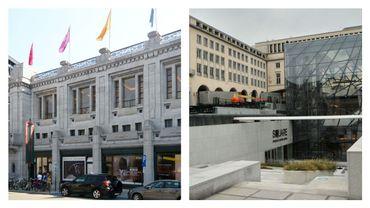 Un projet de liaison piétonne entre BOZAR et Square Meeting Center à Bruxelles
