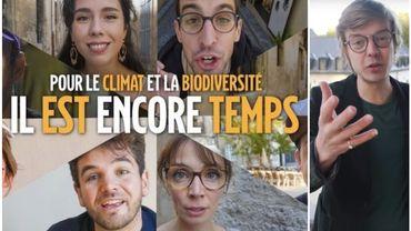 Félicien Bogaerts (Le Biais Vert), fait partie des 19 youtubeurs à l'initiative du projet #IlEstEncoreTemps