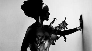 """Robe """"Crystallization"""" de Iris Van Herpen"""