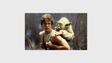 """Yoda a fait sa première apparition au cinéma en 1980 dans """"L'Empire contre-attaque"""", inculquant son enseignement à Luke Skywalker"""