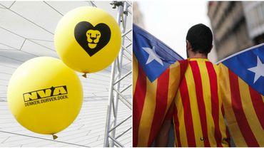La N-VA soutient par tous les moyens le peuple catalan