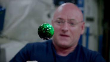 Quand les astronautes testent la haute résolution...