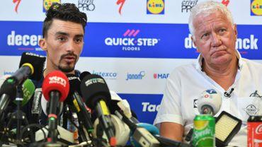 """Lefevere : """"Pas grave si on perd le maillot jaune, notre Tour est déjà réussi"""""""
