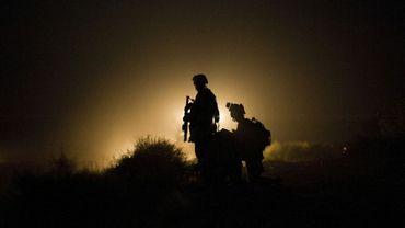 Deux soldats américains dans la province de Helmand, en Afghanistan, le 13 juillet 2009