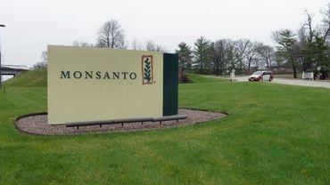 L'entrée du siège de Monsanto près de Saint-Louis, aux Etats-Unis, le 7 avril 2014