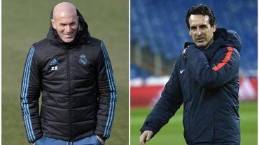 """Zidane zen malgré la """"pression"""", Emery face à ses fantômes"""