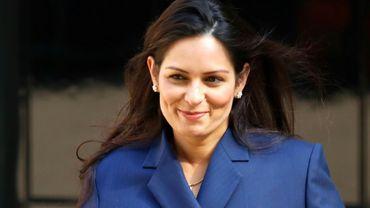 La nouvelle ministre de l'Intérieur britannique Priti Patel