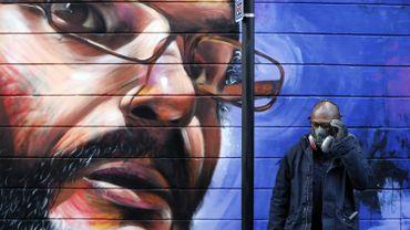 L'immigration célébrée à travers l'oeuvre du street artiste Dreph à Londres