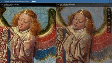 Les quatre dernières œuvres de Jan Van Eyck disponibles en ligne et en haute résolution