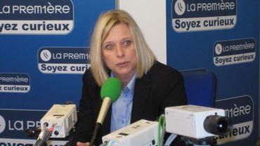 Eliane Tillieux, ministre wallonne de la Santé et de l'Action sociale