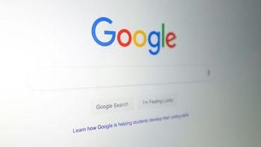 Le logo du moteur de recherche Google