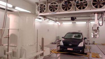 Test de résistance à la chaleur chez Toyota Zaventem