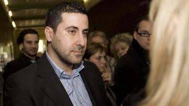 Dyab Abou Jahjah, ancient dirigeant de l'AEL (European Arab League) en 2008.