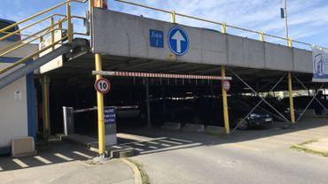 Le parking des Rivages à Charleroi va être démonté cet été déjà