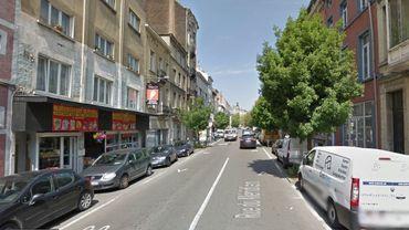 L'accident s'est produit à la rue du Méridien à Saint-Josse