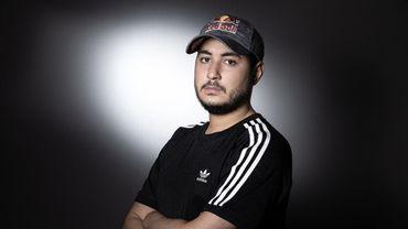 Gotaga, aka Corentin Houssein, de l'équipe Vitality, sponsorisée, entre autres, par Adidas.