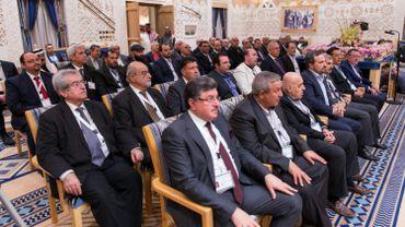"""""""C'est un complot et non une conférence. Il faut faire échouer de telles conférences et rencontres"""", a asséné Abou Mohammad al-Jolani."""