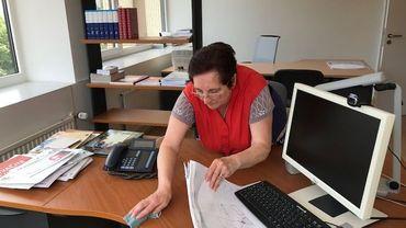 Marie-Paule a 68 ans mais elle continue de travailler.