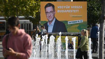 Hongrie: à Budapest, l'écologiste Gergely Karácsony qui mène la liste d'alliance face au candidat du pouvoir, le maire sortant Istvan Tarlos