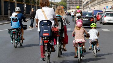Semaine de la Mobilité: Environ 15% des travailleurs reçoivent une indemnité vélo, selon Acerta