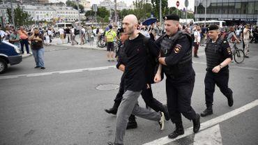 Russie : une vingtaine d'arrestations, dont l'opposant Navalny, lors d'une manifestation en faveur de Golounov