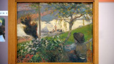 """""""La Rivière blanche"""", une oeuvre de Paul Gauguin"""