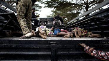 """Violences de lundi à Kinshasa: 31 """"terroristes"""" présentés aux autorités"""