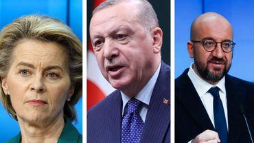 """Alors que le Premier ministre italien qualifie Erdogan de """"dictateur"""", la Turquie blâme l'UE pour le 'sofa gate"""