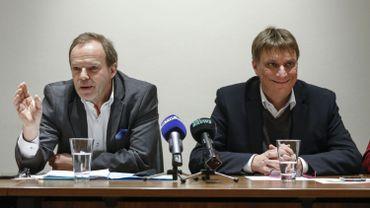 Damien Thiéry et Yves Ghéquière au temps de leur entente...